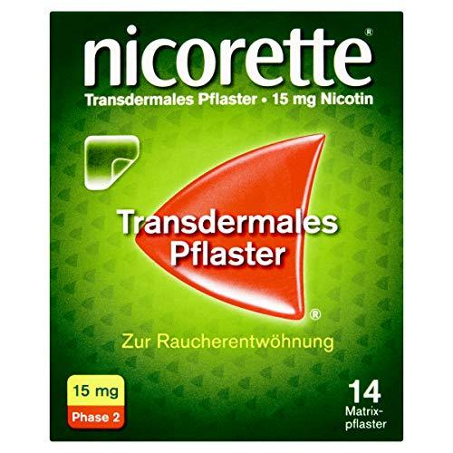 nicorette TX Pflaster 15 mg zur Raucherentwöhnung, 14 St. Pflaster
