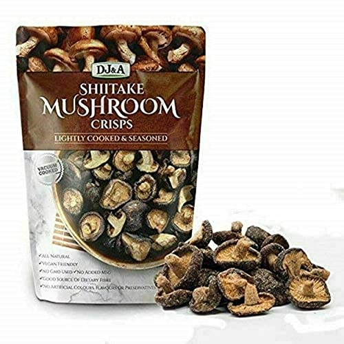 Shiitake Mushroom Crisps - Lightly Cooked and Seasoned 10.28 Ounce (10.58 Ounce)