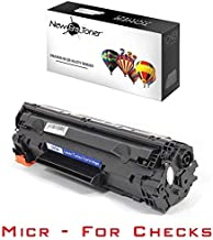 New Era Toner - 1 Compatible MICR Toner Cartridge Replacement for HP CE285A (85A) for LaserJet Pro P1102, P1102w, M1130, M1132 MFP, M1134 MFP, M1136 MFP, M1137, M1138, M1139, M1210, M121, M1212nf, M1213nf, M1214nhf, M1216nfh, M1217nfw, M1219nf Printers