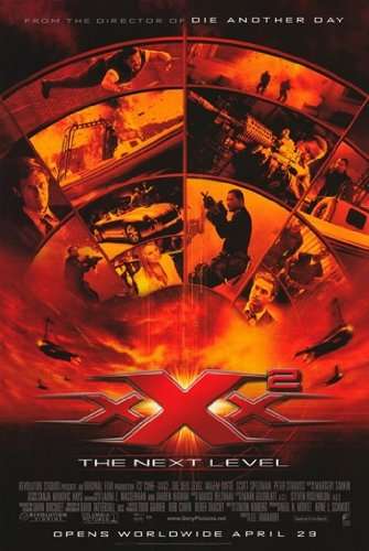 XXX: State of the Union Movie Poster (27,94 x 43,18 cm)