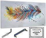 Monica Mirafiori I 140x70 cm I Cuadro pintado a mano I Pintura I Arte moderno