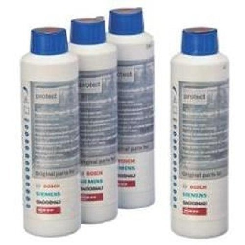 Bosch 00311566 Vorteilspaket 4x Maschinenpfleger für Spülmaschinen 4x 250 ml