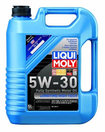 Liqui Moly 2039 Longtime High Tech 5W-30 Synthetic Motor Oil - 5 Liter