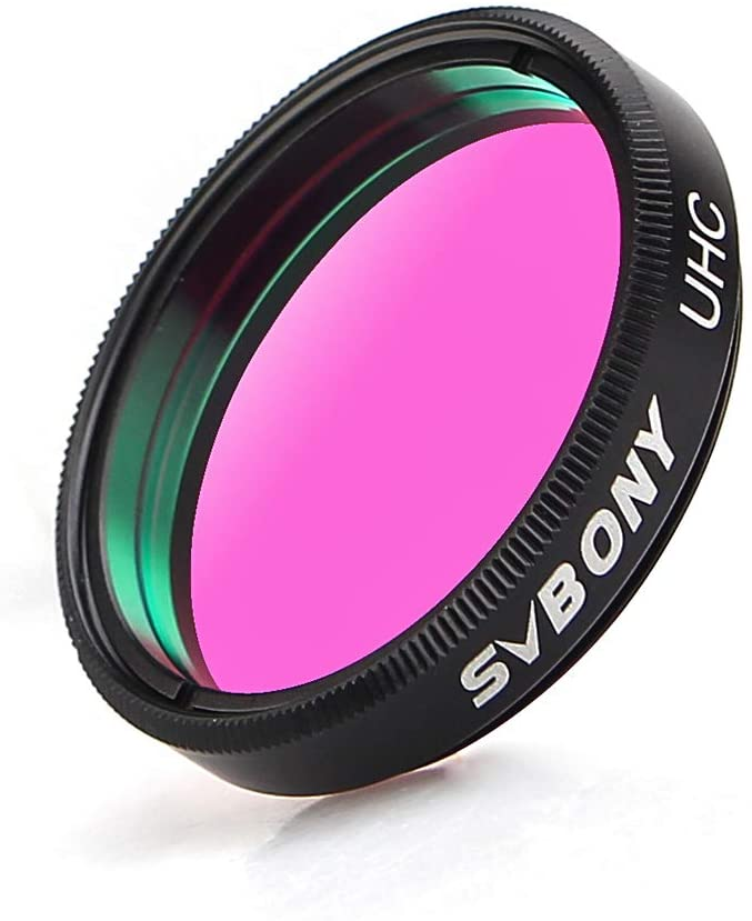 SVBONY Telescope Filter 1.25 UHC Complete Free Shipping Ranking TOP16 inches Astrophotography