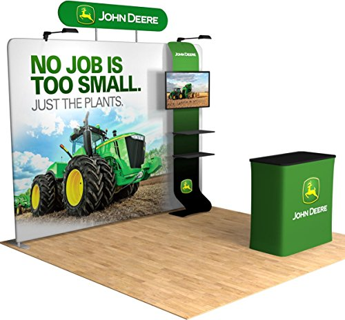 Galaxy Displays - Custom Trade Show Display 10x10 Booth Tru-Fit Max Package Media Kit