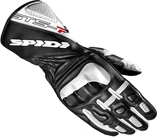 Spidi STS-R2 Damen Motorrad Handschuhe Schwarz/Weiß XS
