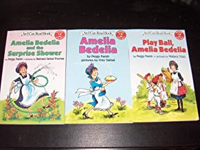 Set of 3 Books (An I Can Read Book) Reading Level 2: Amelia Bedelia/Play Ball, Amelia Bedelia/Amelia Bedelia and the Surprise Shower