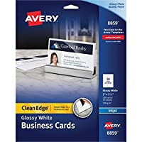 avery-dennison ave8859Averyプレミアムクリーンエッジビジネスカード