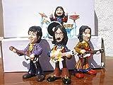 TRUMAR Set Grupo The Beatles.Figuras en Resina Polystone Comic 14cm Altas