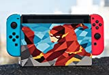 Comic Book Hero Polygon Design Vinyl Decal Sticker Skin by egeek amz for Nintendo Switch Dock