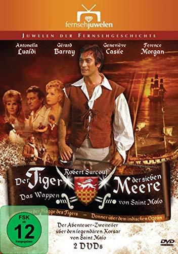 Der Tiger der sieben Meere - Das Wappen von Saint Malo (Fernsehjuwelen) [2 DVDs]