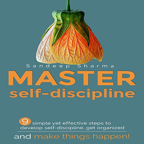 Master Self Discipline audiobook cover art