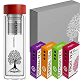 amapodo Tee Geschenke für Frauen Männer Geschenkbox Geschenkset nachhaltige Geschenkidee 2x...