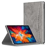 タブレット&アクセサリー Lenovo Tab P11 Pro TB-J716F / J706F大理石の布テクスチャTPU水平フリップレザーケースホルダー&スリープ/ウェイクアップ機能