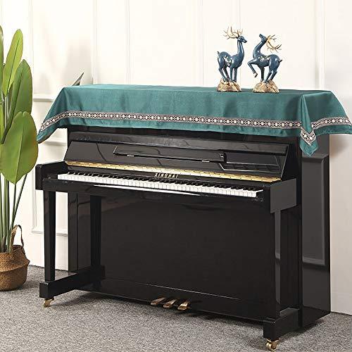 Dhl Piano afdekking voor de helft van de afdekking, eenvoudige moderne stofhoes, drie sets voor piano pedaal afdekking