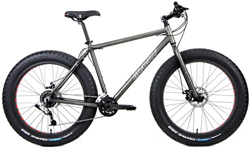 Aluminum Fat Bikes with Powerful Disc Brakes...