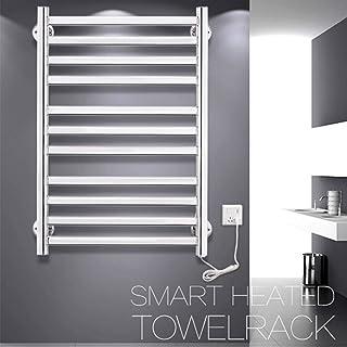 HYY-YY. Podgrzewacz do ręczników, podłączony do ściany, ze stali nierdzewnej, do łazienki, wieszak na ręczniki do łazienk...