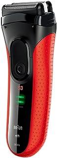 【顺电自营 ?#20998;时?#35777;】Braun 博朗 3系电动 剃须刀3030 红色 充电式 刮胡刀 全身水洗 送爸爸 送男友