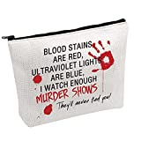Horror Gift Blood Stains Are Red Makeup Bag...