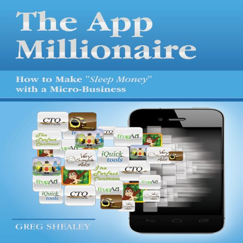 The App Millionaire audiobook cover art