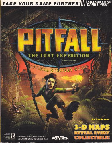 Pitfall: The Lost Expedition : Official Strategy Guide