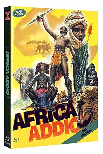 Africa Addio - Limited Mediabook Edition Cover A auf 444 Stk - DVD + Blu-ray