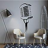 yaonuli Creative Voice Tube Etiqueta de la Pared Etiqueta de la Pared Sala de Estar Dormitorio calcomanía Etiqueta Creativa 54x118cm
