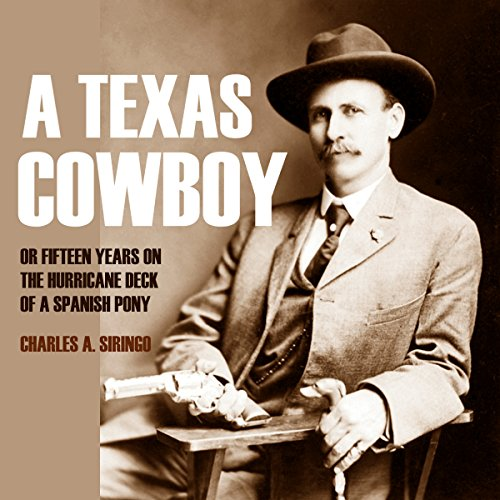 A Texas Cowboy audiobook cover art