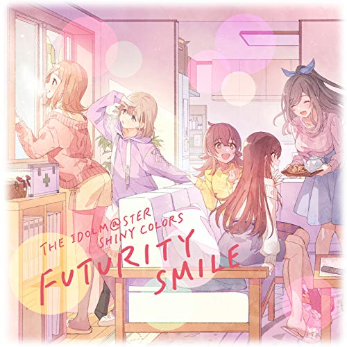 [single]THE IDOLM@STER SHINY COLORS FUTURITY SMILE – シャイニーカラーズ[FLAC + MP3]