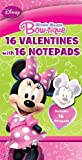 Paper Magic Minnie Mouse Valentine Exchange Cards with Bonus Notepad...