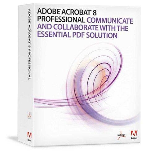 Adobe Acrobat 8 Professional Upsell von Adobe Acrobat Standard (Versionen 5, 6 und 7) englisch