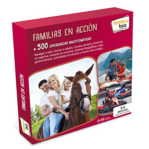 Family's Box - Pack experiencia familias en acción