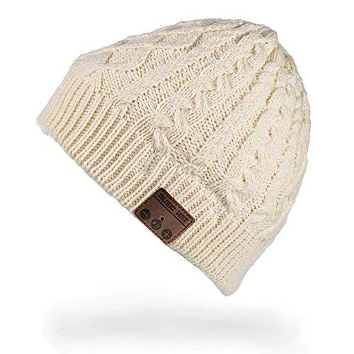 Bluetooth Sombrero, Jtong Música Beanie inalámbrico Auriculares Bluetooth Gorra de Punto Unisex...