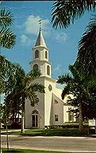 Trinity By The Cove Episcopal Church, Port Royal Naples, Florida Original Vintage Postcard