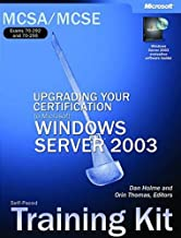 MCSA/MCSE Self-Paced Training Kit (Exams 70-292 & 70-296) - Upgrading Your Certification to MS Windows Server 2003 - self-training course - CD - English ( 9780735619715 )