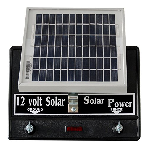 Silver Streak Solar Fence Charger