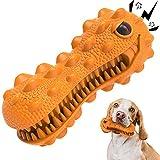 Dyno de juguete masticable para perros Royal Pets House | chirriante | Caucho resistente y duradero | Juguetes de cepillo de dientes para masticadores