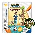Collectix Tiptoi Pocket Wissen - Cuerpo: libro infantil a partir de 4 años + pegatina de animales para niños