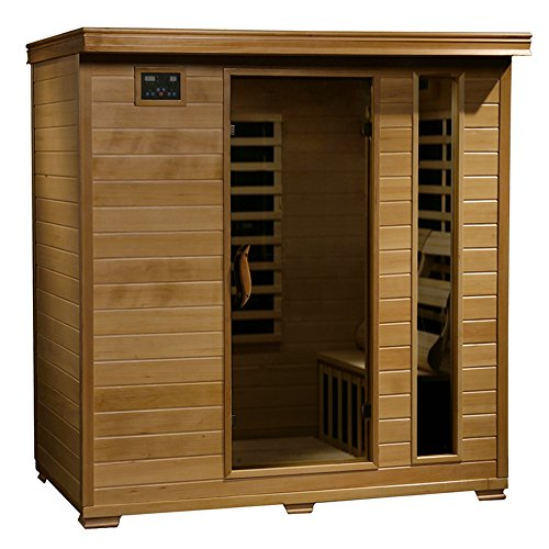 Radiant Saunas BSA2418 4-Person Hemlock Infrared Sauna
