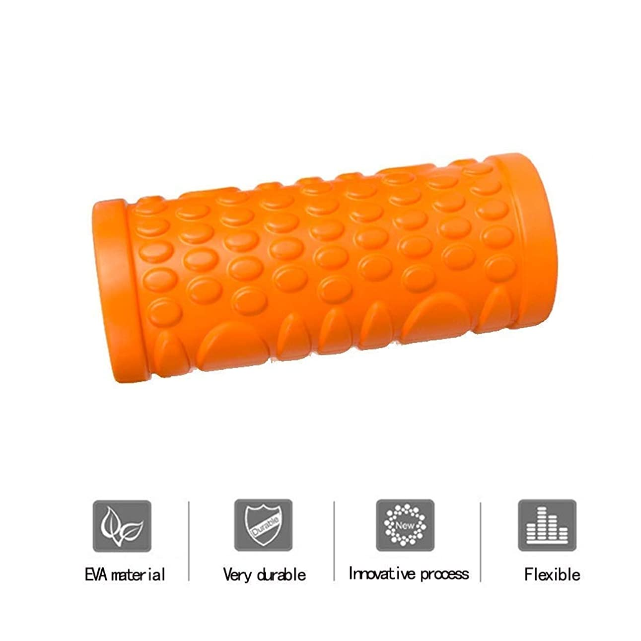 スイ祈る運命的なJINDEN 泡のローラー、筋肉の深いティッシュのマッサージャーのための泡のローラーと筋筋膜のトリガーポイントリリース