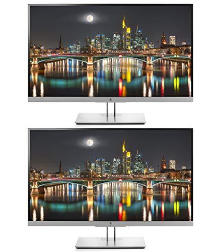 "HP Business EliteDisplay E273 27"" Screen Full HD LED-Lit Black/Silver Monitor 2-Pack"