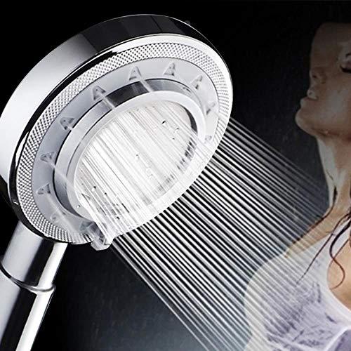 Grysongms Alcachofa de ducha de metal de aluminio de alta presión de...