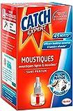 CATCH Recharge Diffuseur Electrique Anti-moustiques Liquide sans Parfum 45 Nuits