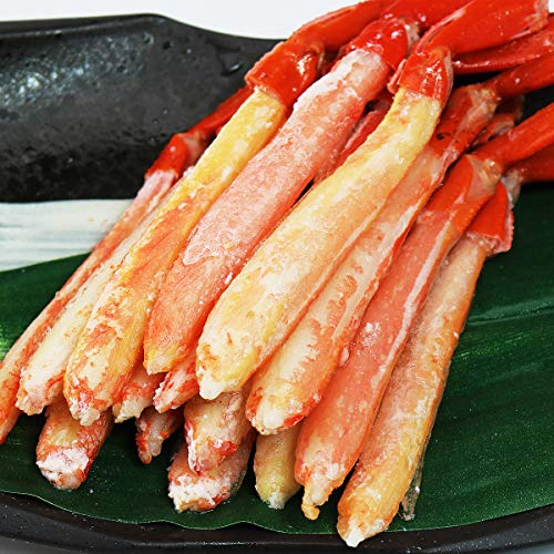 食の達人森源商店 北海道産 お刺身用 生 紅ずわいがにポーション500g 紅ズワイ カニ かに 蟹