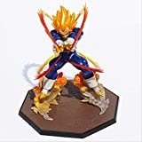 Holiny Anime Dragon Ball Z Super Saiyan Vegeta Battle State Final Flash PVC Figura De Acción De Cole...
