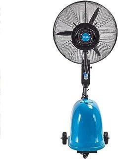OUPAI Ventiladores Ventilador de nebulización al aire libre, ventilador de pedestal con ajuste de velocidad 3 Oscilación a 90 ° para enfriamiento y nebulización generalizados para hoteles Plantación e