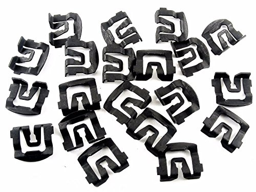 QUICK RELEASE WINDSHIELD CLAMPS SET PAIR KAWASAKI CAN AM COMMANDER