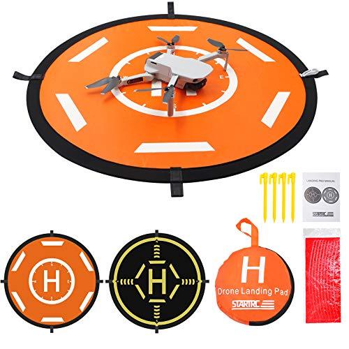 Drohnen-Landeplatz-Zubehör, Mavic Mini 2-Zubehör UAV-Landeplatz Faltbarer Drohnen-Landeplatz Tragbare Landematte DJI FPV / Mini 2 / RC-Drohnenhubschrauber