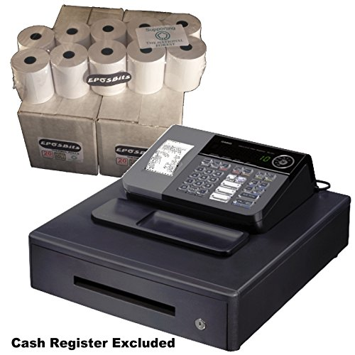 eposbits® marca rollos para Casio SE-S10 SES10 SES se S10 S 10 rollos de caja registradora – 40: Amazon.es: Oficina y papelería
