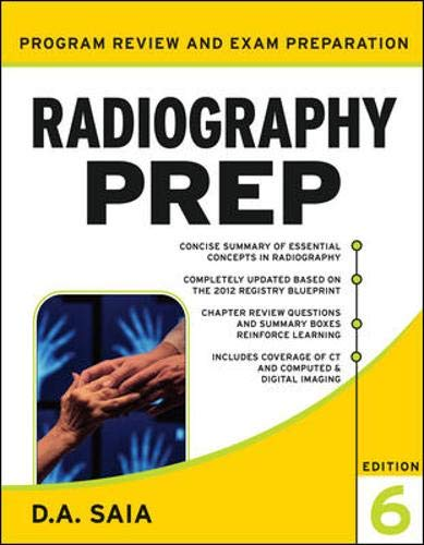 Radiography PREP (Program Review and Examination...